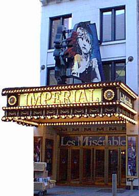 Imperial Theatre Marquee